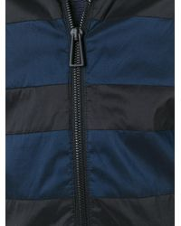 PS by Paul Smith | Black Striped Detail Hooded Jacket for Men | Lyst