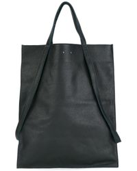PB 0110 | Blue Double Top Handles Tote | Lyst