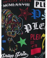 Philipp Plein - Black My View T-shirt for Men - Lyst