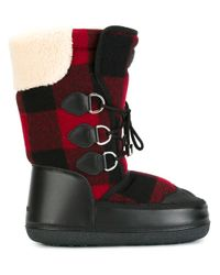 DSquared² | Black Ski Snow Boots | Lyst