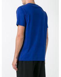 Etudes Studio - Blue 'page Accent' T-shirt for Men - Lyst