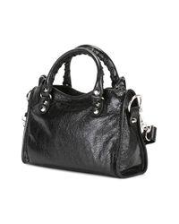 Balenciaga - Black - Mini 'classic City' Crossbody Bag - Women - Lamb Skin - One Size - Lyst