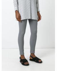 Joseph - Gray Cropped Leggings - Lyst