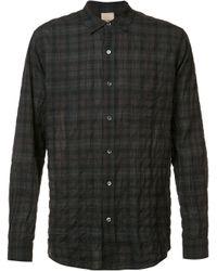 Baldwin Denim | Gray - 'frank' Crinkle Shirt - Men - Cotton - S for Men | Lyst