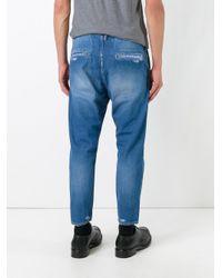Jil Sander | Blue Tapered Jeans for Men | Lyst