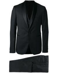 Tagliatore | Black Two Piece Suit for Men | Lyst