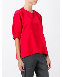 Isabel Marant | Red Silway Top | Lyst
