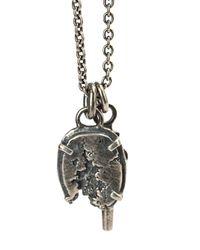Tobias Wistisen   Metallic Broken Stone Necklace for Men   Lyst