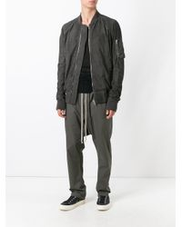 Rick Owens - Brown Drop-crotch Trousers for Men - Lyst