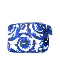 Versace - Blue - Painted Baroque Shoulder Bag - Men - Nylon - One Size - Lyst
