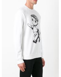 DSquared² | White Baby Punk Sweatshirt for Men | Lyst