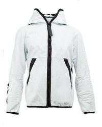 G-Star RAW | White Denim Hooded Jacket for Men | Lyst