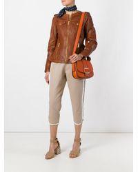 MICHAEL Michael Kors - Orange Saddle Shoulder Bag - Lyst