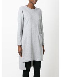 Y-3 - Gray Craft Sweatshirt - Lyst
