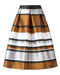 Blugirl Blumarine | White Metallic A-line Skirt | Lyst