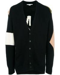 Stella McCartney - Black Tomorrow Knit Cardigan for Men - Lyst