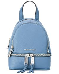 Michael Kors | Blue Rhea Backpack | Lyst