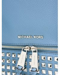 MICHAEL Michael Kors   Blue Rhea Backpack   Lyst