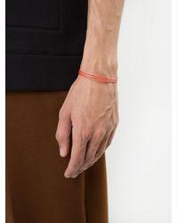 Luis Morais - Multicolor Medium Clasped String Bracelet for Men - Lyst