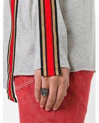 Maison Margiela - Gray Ring Pull Ring for Men - Lyst