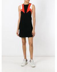 Neil Barrett - Black Geometric Pattern Dress - Lyst