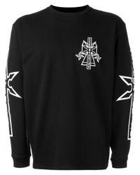 Marcelo Burlon | Black Ramon Sweatshirt for Men | Lyst