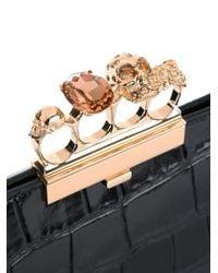 Alexander McQueen - Black Knuckle Box Case - Lyst