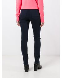PS by Paul Smith | Blue Skinny Trousers | Lyst