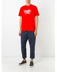 OAMC | Blue Cropped Trousers for Men | Lyst