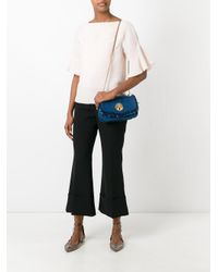See By Chloé | Blue Frayed Denim Shoulder Bag | Lyst