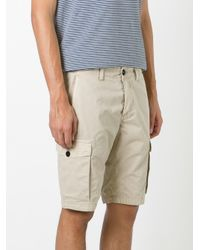 Stone Island | Natural Cargo Shorts for Men | Lyst