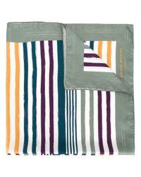 Sonia Rykiel | Green Striped Scarf | Lyst