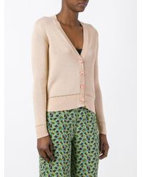 Etro - Multicolor Button Up Cardigan - Lyst