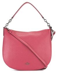 COACH - Pink Adjustable Strap Tote - Lyst
