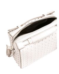 Tod's - Multicolor Studded Boxy Tote - Lyst
