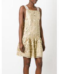 N°21 - Metallic Embroidered Dress - Lyst