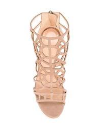 Sergio Rossi - Natural Laser Cut Sandals - Lyst