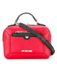 Love Moschino | Red Top Handle Crossbody Bag | Lyst