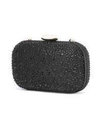 Love Moschino - Black Embellished Clutch - Lyst
