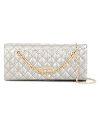 Love Moschino | Metallic Quilted Shoulder Bag | Lyst