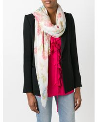 Dondup - Multicolor Rose Scarf - Lyst