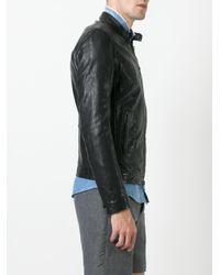 Dondup - Black Banded Collar Jacket for Men - Lyst