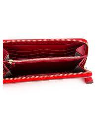 Anya Hindmarch   Red Eyes Zip Around Wallet   Lyst