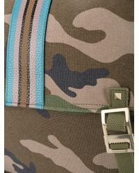Valentino | Green Garavani Camouflage Messenger Bag for Men | Lyst