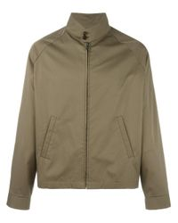 Maison Margiela | Green Stand Up Collar Jacket for Men | Lyst