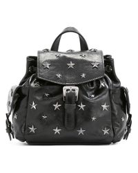 RED Valentino | Black - Star Stud Backpack - Women - Calf Leather - One Size | Lyst