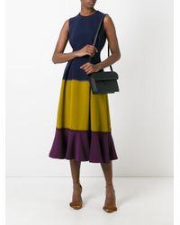 ROKSANDA - Blue Sleeveless Colour-block Dress - Lyst