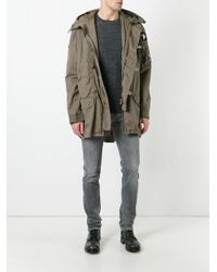 History Repeats - Green Zip Up Jacket for Men - Lyst