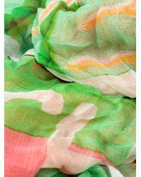 Faliero Sarti - Multicolor Text Print Scarf - Lyst