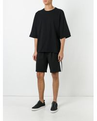 Thom Krom | Black Flared Sleeve T-shirt for Men | Lyst